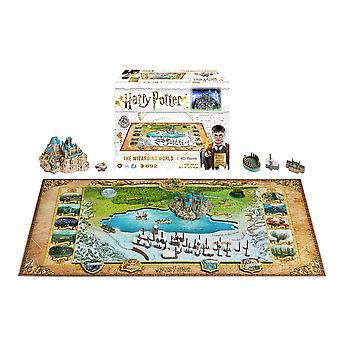 4D Cityscape Harry Potter: The Wizarding World (892 Pieces)