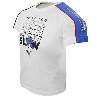 Puma x Sega Camiseta Sonic The Hedgehog Kids Taped Top 596312 02