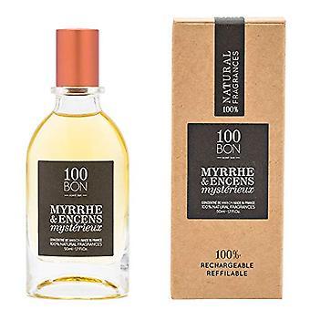 100BON Myrrhe & Encens Mysterieux Refillable Eau de Parfum Concentrate 50ml Spray