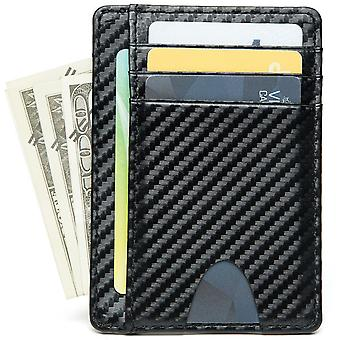 Ultra-thin carbon fiber card holder business card holder wallet