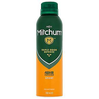 Mitchum 6 X Mitchum Anti Perspirant Spray - Sport