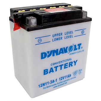 Dynavolt 12N113A1 Conventional Dry Charge Battery