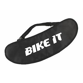 自行车它遮阳板袋 - 黑色