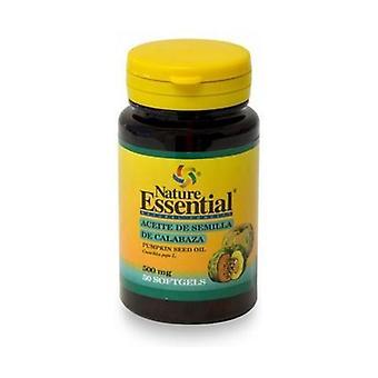 Pumpkin Seed Oil 50 softgels of 500mg