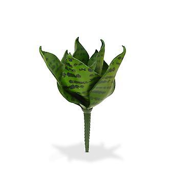 Artificial Sanseveria Bouquet 20 cm green