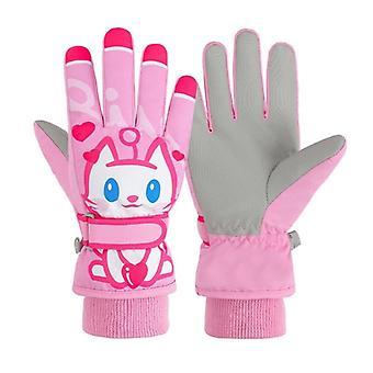 Ragazzi,, guanti per bambini, caldo all'aperto, guanti, inverno, impermeabile, antivento,