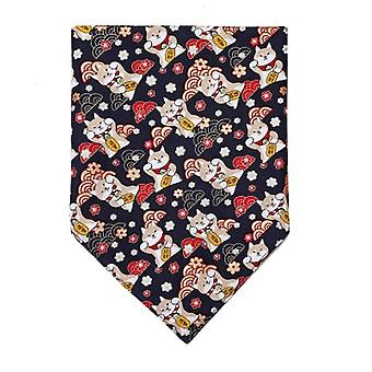 Dog Bandana,  Classic Plaid Snowflake Pet Triangle Bibs Scarf Accessories