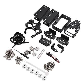 6 Dof Robot Manipulator Metal Alloy Mechanical Arm Clamp Claw Kit
