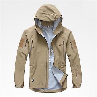 Outdoor Waterproof Hard Shell Tactical Jacket, Spring, Autumn, Thin Breathable
