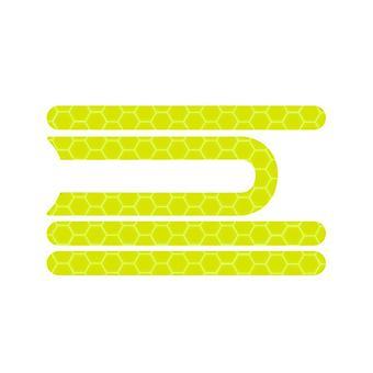 4kpl Pro Etu takapyörän rengaskansi Suojaava kuori Heijastava Tarra