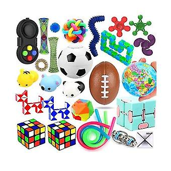 28 Pack Sensory Toys Set, Relieves Stress And Anxiety Fidget Toy For Children Adults