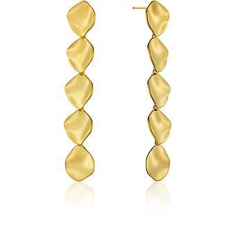 Ania Haie AH E017-06G Metal Crush Women Earrings