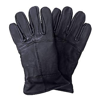 Mens 3m Thinsulate Leather Gloves