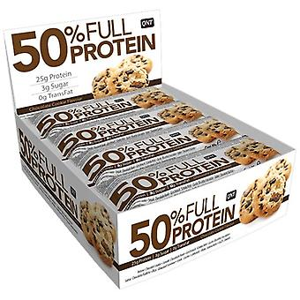 QNT 50% Full Protein Bar Maintaining Muscle Mass (Chocolate Cookie) 12 X 50g