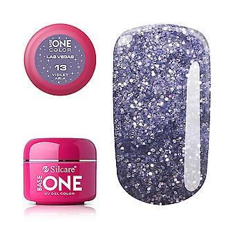 Base One - UV Gel - Las Vegas - Violet Aria - 13 - 5 gram