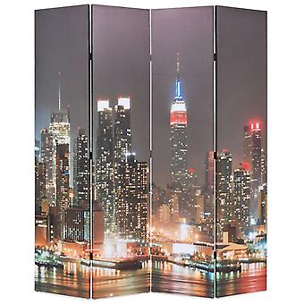 vidaXL غرفة مقسم قابل للطي 160 × 170 سم نيويورك في الليل