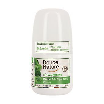 Mint roll-on deodorant - normal skin 50 ml