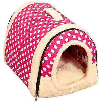 Animal House Beds Triangle Design Pet Sleeping Bag Washable Home