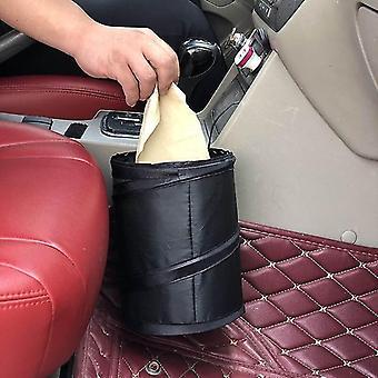 Car Trash Can Pack Bag  For Little Leak Proof Garbage Bag With Side Pocket