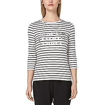 s.Oliver SVART ETIKETT 29.901.39.8308 T-Shirt, Svart (Svart 99a3), 50 (Tillverkarens storlek: 44) Kvinna