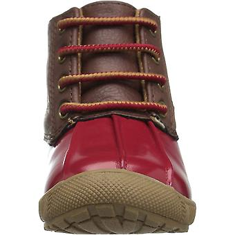 Baby Deer Girls' 02-6768 Ankle Boot, Red, 2 Child US Toddler
