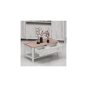 Sofabord Sento Colore Legno, Bianco, i Truciolare Slime L90xP42xA45 cm