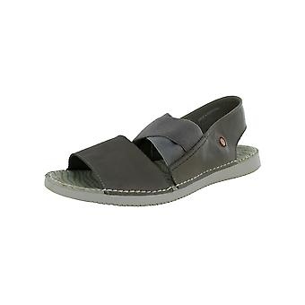 Softinos Womens TIN Cross-Band Sandal Shoes