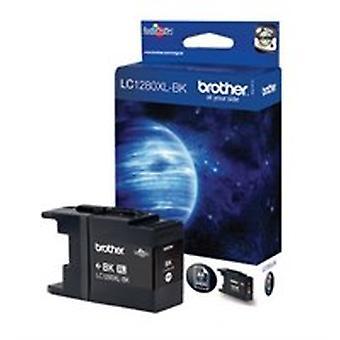 Brother LC-1280XLBK Tintenpatrone schwarz, 2.4K Seiten