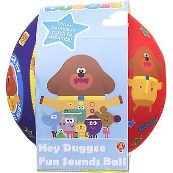 Hey Duggee Spaß klingt Ball Soft Toy