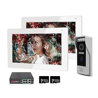 Jeatone Smart Home 7� Ip Wifi Wireless Video Intercom