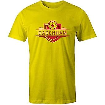 Sporting empire dagenham & redbridge 1992 established badge kids football t-shirt