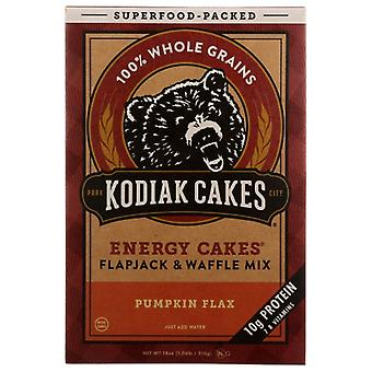 Kodiak Mix Flpjck Enr Pmpkn Flax, Case of 6 X 18 Oz