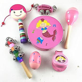 Baby Musikalisches Spielzeug Kinder Holz Kleinkind Musikinstrumente Pädagogisches Lernspielzeug (GRUPPE3)