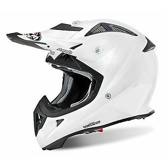Airoh Aviator J Junior Color White Motorcycle Helmet