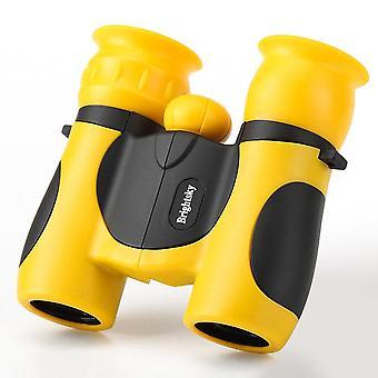 Kids Real Telescope Soft Silicone Binoculars 8x21 Zoom Telescope For Students Girls Boys Birthday