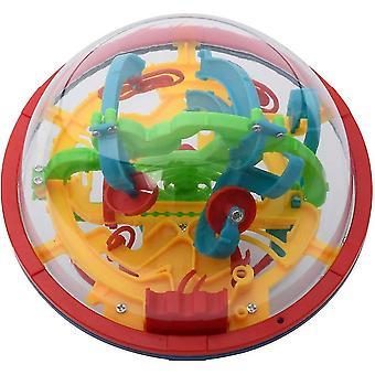 3d labyrint bold med 100 udfordrende, bedste gave puslespil, 3d puslespil legetøj, magiske labyrint bold