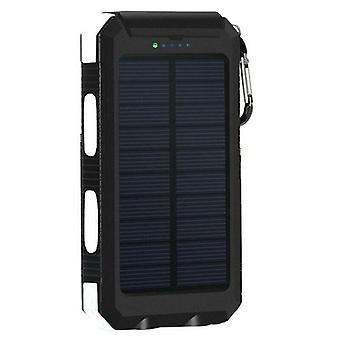 Solar Power Bank Real 20000 Mah Dual USB externe impermeabil polimer