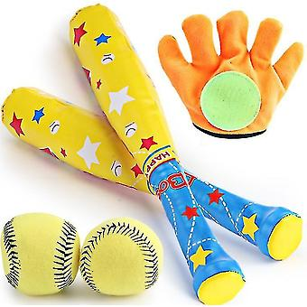 Children's Baseball Set Sports Toys 4 Piece Set Of Baseball Sticky Target Outdoor