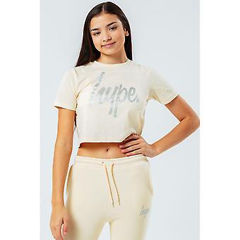 Hype Girls Crop T-Shirt