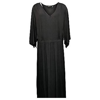 G بواسطة جوليانا فستان EcoLuxe Knit 3/4-sleeve أسود 768312