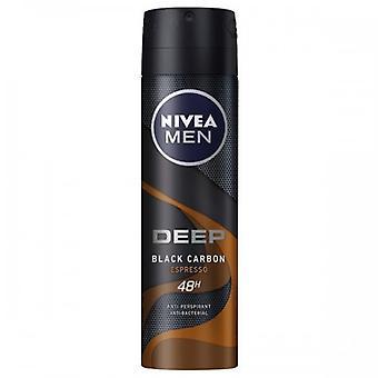 Spray Deodorantti Miehet Syvä Spresso Nivea (150 Ml) 23857 23857 23857