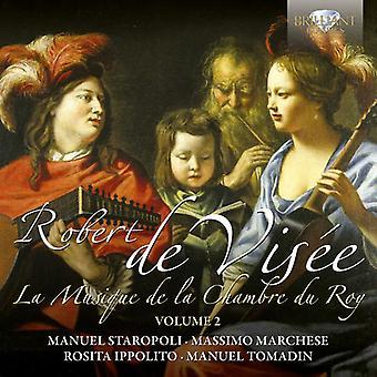 R. de Visee - Robert Di Vis E: La Musique De La Chambre Du Roy, Vol. 2 [CD] USA import