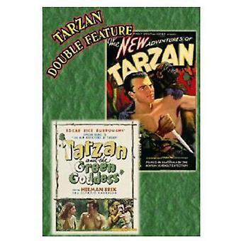 Importer des nouvelles aventures de Tarzan (1935) / Tarzan & USA vert [DVD]