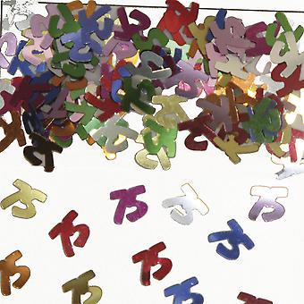 Tabela numer 75 konfetti ozdoba konfetti urodzinowe