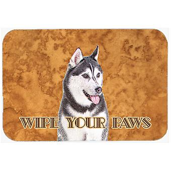 Alaskan Malamute Wipe your Paws Kitchen or Bath Mat 20x30