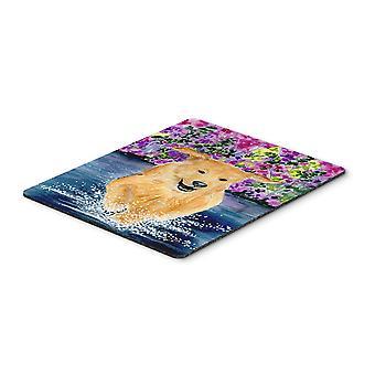 Carolines Treasures  SS8627MP Golden Retriever Mouse Pad, Hot Pad or Trivet