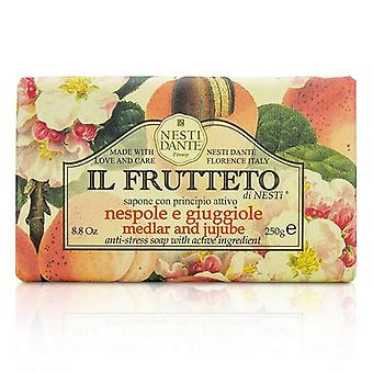 Nesti Dante Il Frutteto anti-stress SOAP-Medlar & amp; Jujube-250g/8.8 oz