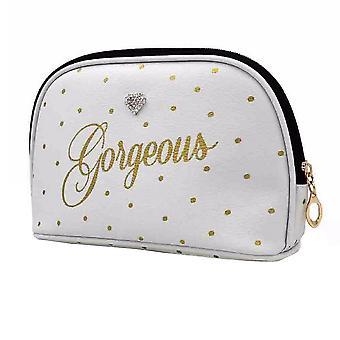 Gorgeous Dot Print Cosmetic Wash Bag