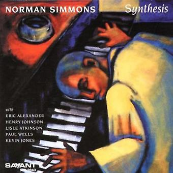 Norman Simmons - Synthesis [CD] USA import