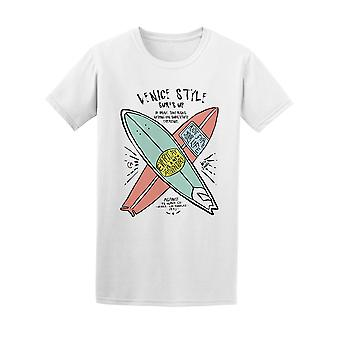 Venice Style Surf's Up Vintage Design Tee - Image by Shutterstock